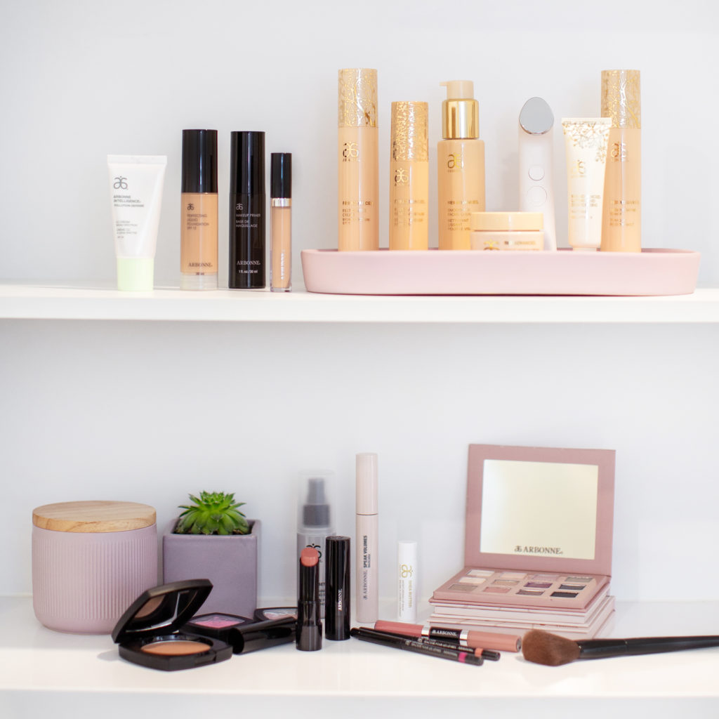 Assorted Skincare and makeup products